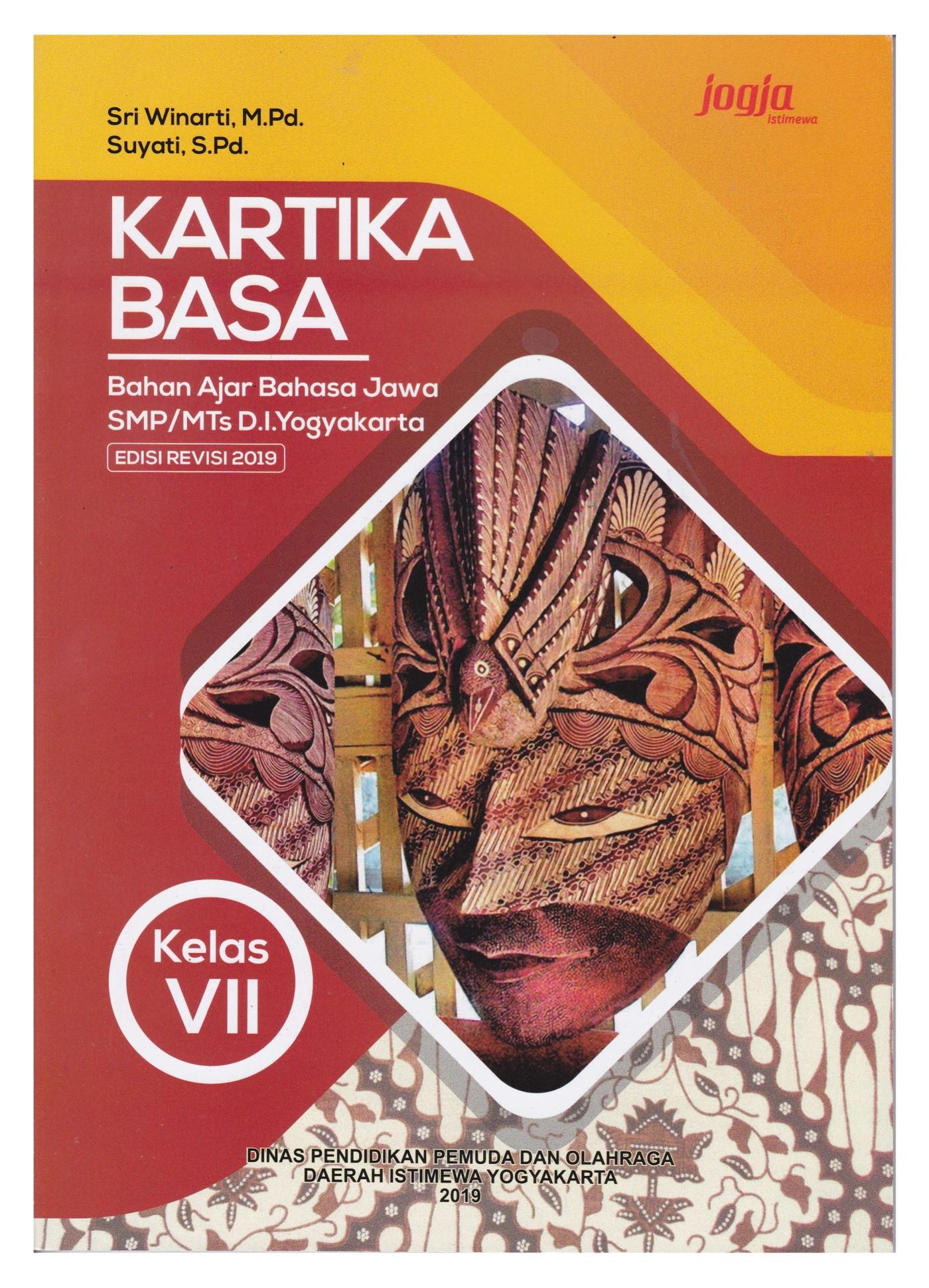 Download Buku Paket Bahasa Jawa Kelas 7 Kirtya Bas